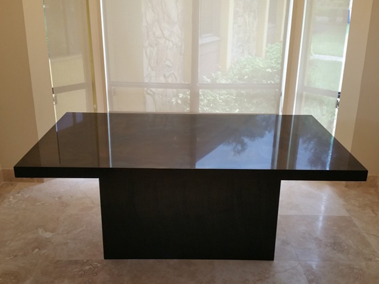 Absolute Black Kitchen Countertop Amp Dining Table Black