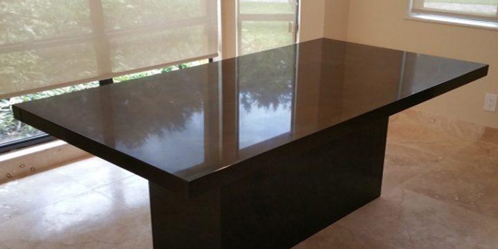 Absolute Black Kitchen & Dining Table