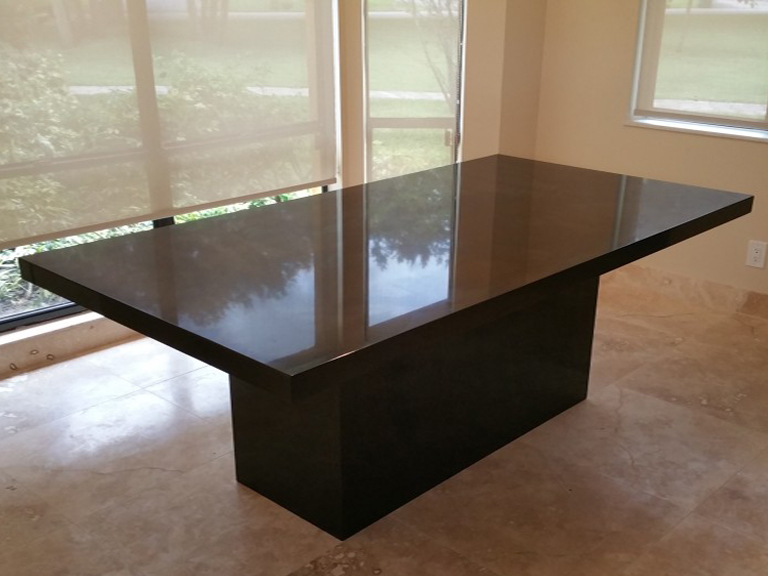 black countertop kitchen, black granite kitchen
