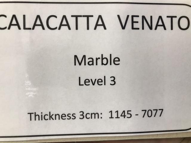 marble calacatta venato specs