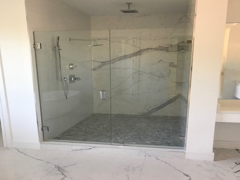 master-bath-white-quartz-vanity-shower-wall-calacata-slab-01