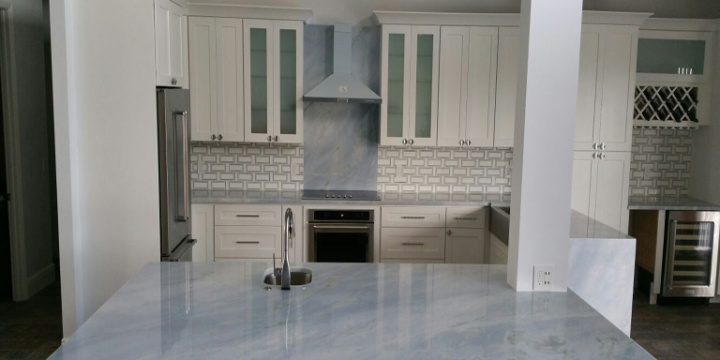 Quartzite Ocean Blue in Boca Raton FL