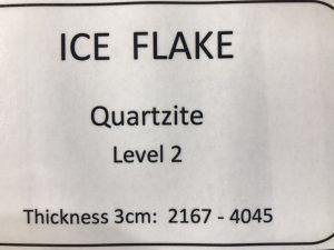 quartzite-ice-flake-specs