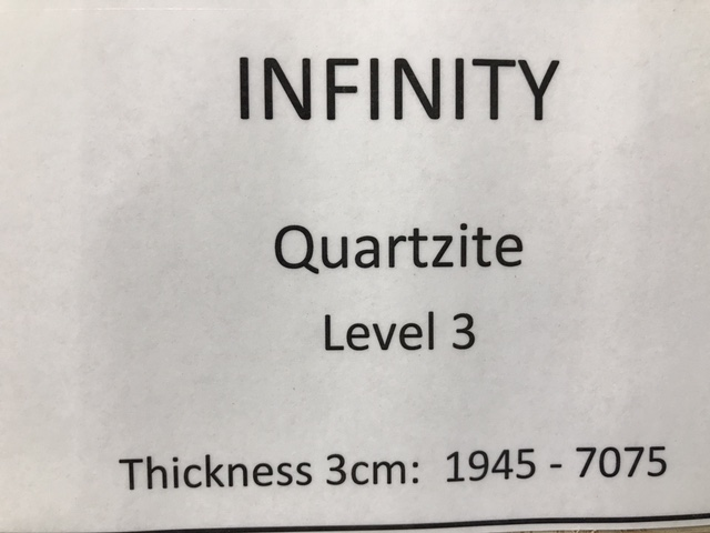 quartzite-infinity-specs