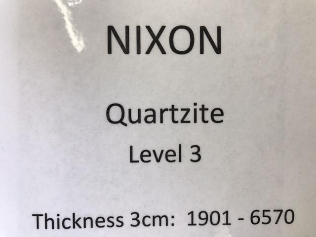 quartzite-nixion-specs