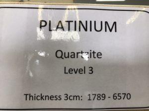 quartzite-platinum-specs