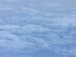 quartzite blue sky