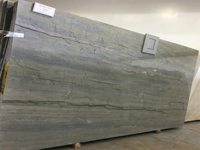 Quartzite Artemis White 01 Stone Design By Santos