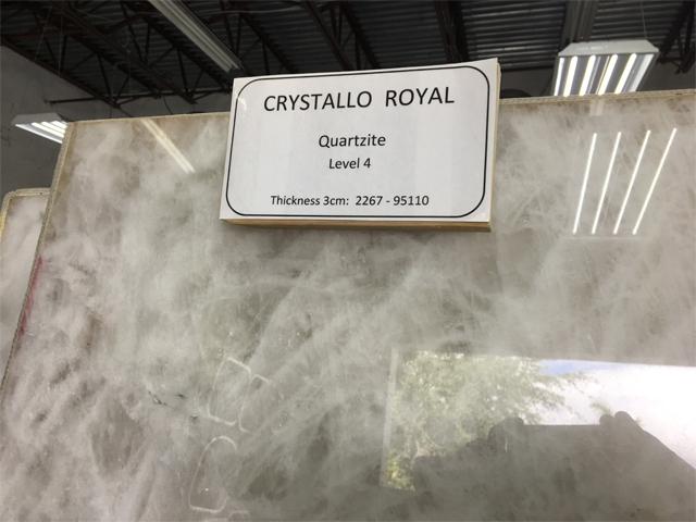 quartzite crystallo royal