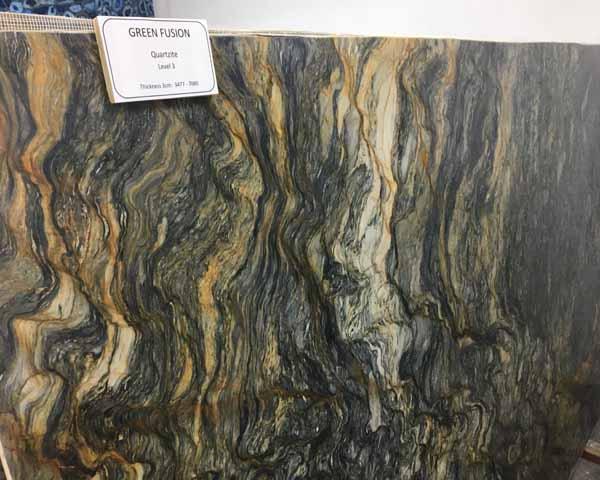 Green Fusion Quartzite Stone Design By Santos